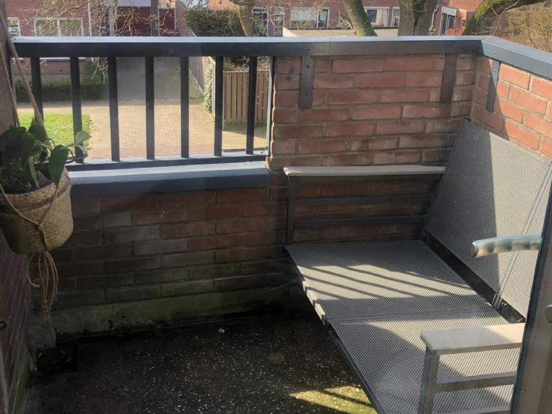 Balkon oppimpen