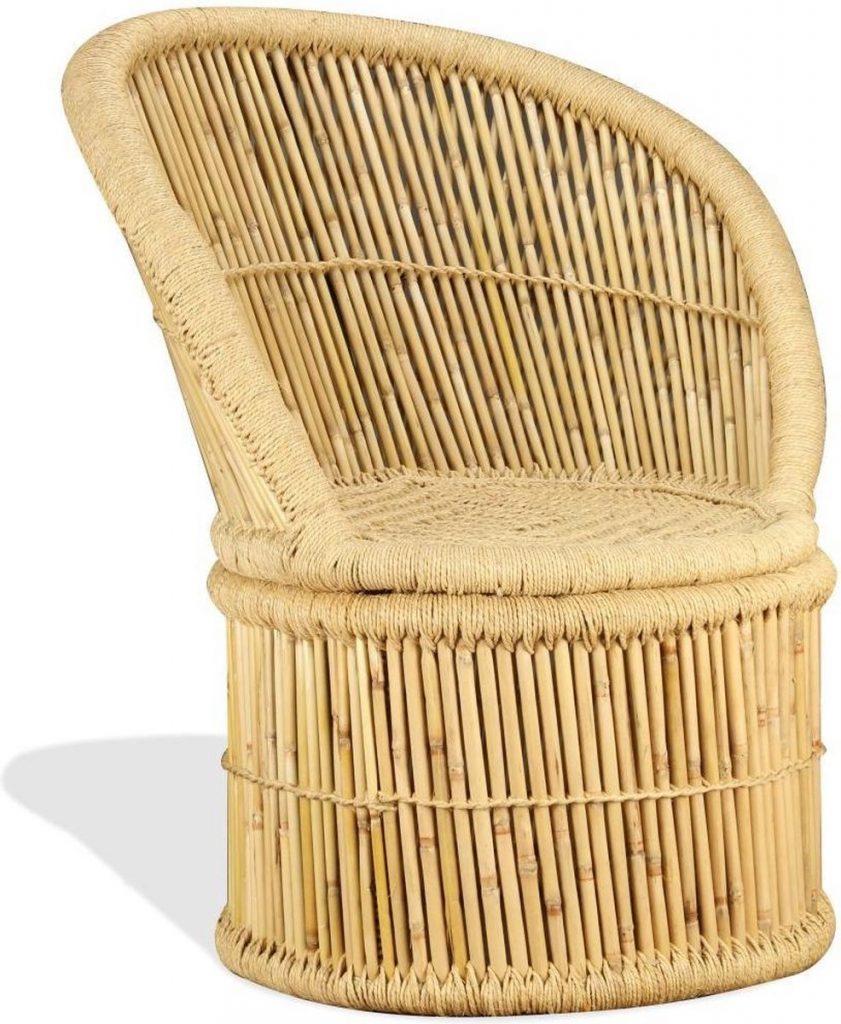 bamboe stoel