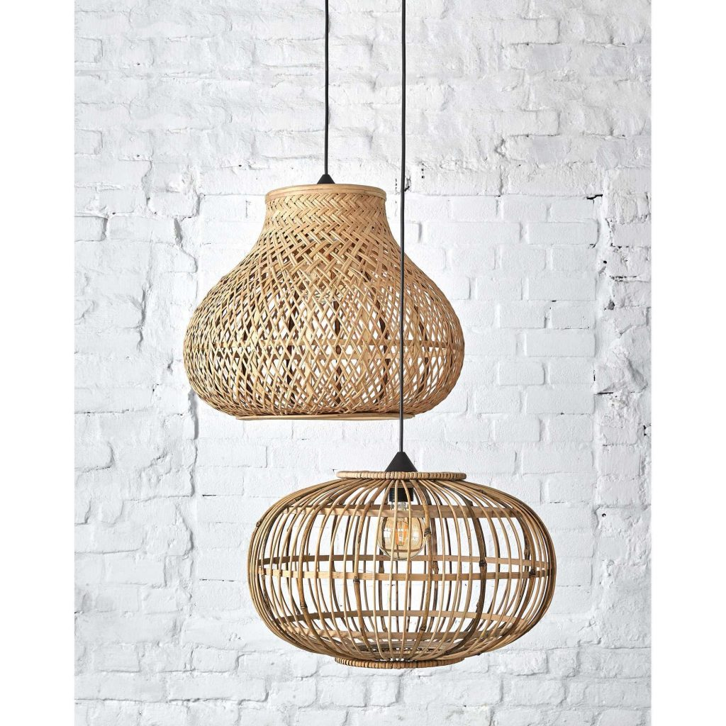 kwantum lamp bamboe